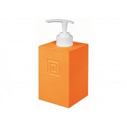 ДОЗАТОР MEANDER для жидкого мыла оранжевый пластик