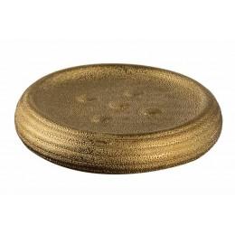 Мыльница GOLD керамическая под золото