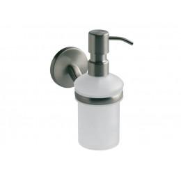 ДОЗАТОР VIRGINIA для жидкого мыла сатен настенный